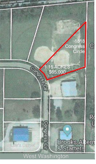Residential Lots & Land For Sale: 1818 Congress Circle