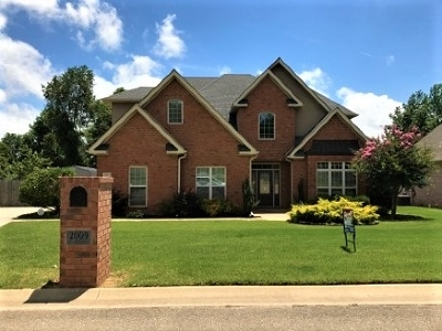 Jonesboro Single Family Home For Sale: 2009 Jamestown