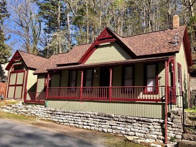Eureka Springs Single Family Home For Sale: 45 Benton