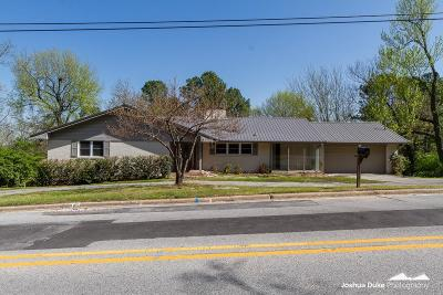 Fayetteville Single Family Home For Sale: 132 W Sycamore St
