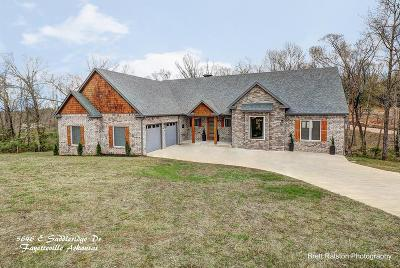 Fayetteville Single Family Home For Sale: 5646 E Saddleridge Drive