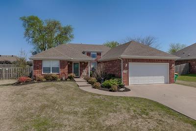 Centerton Single Family Home For Sale: 301 Halleck Coach Rd