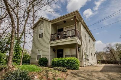 Fayetteville Multi Family Home For Sale: 24 S University Ave, Unit 101 #101