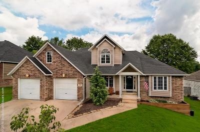 Fayetteville Single Family Home For Sale: 2810 N Boxwood Drive
