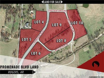 Rogers Residential Lots & Land For Sale: W Oliver DR Unit #Lot 9 #Lot 9