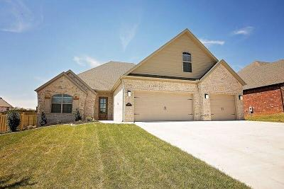 Centerton Single Family Home For Sale: 1401 Tuscany DR