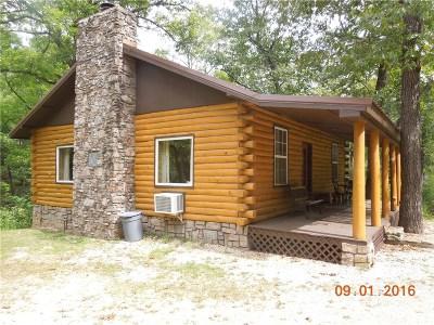 Eureka Springs Single Family Home For Sale: 326 Hidden Hollow RD