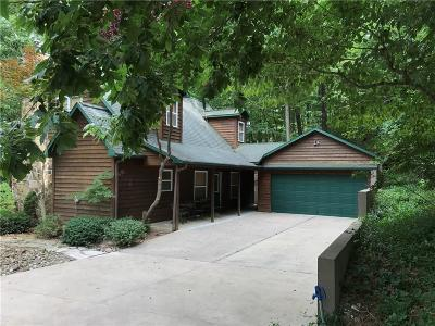 Eureka Springs Single Family Home For Sale: 453 Lakeview DR