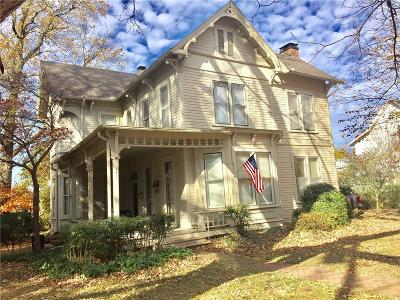 Fayetteville Single Family Home For Sale: 347 N Washington AVE