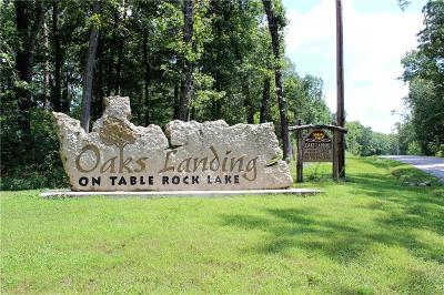 Eureka Springs, Rogers, Lowell Residential Lots & Land For Sale: Lot 15 Oaks Landing