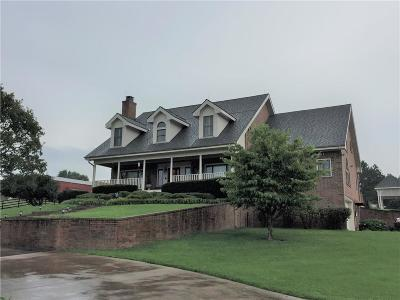 Fayetteville Single Family Home For Sale: 3827 N Gulley RD