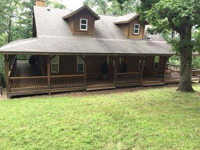 Eureka Springs Single Family Home For Sale: 1906 County Road 1520