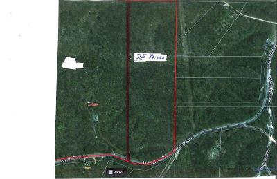Rogers Residential Lots & Land For Sale: 25 ac Railroad Cut RD