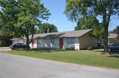 Benton County Multi Family Home For Sale: 218, 226, 316, 322 S Skilern ST
