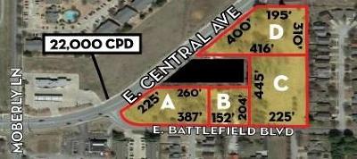 Residential Lots & Land For Sale: 2608 Central AVE Unit #D #D