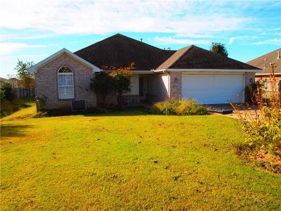 Springdale AR Single Family Home For Sale: $155,000