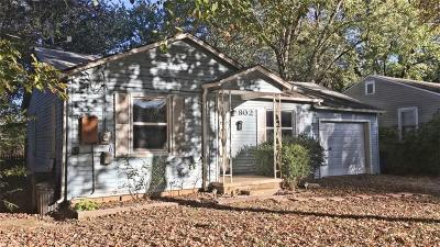 Bentonville Single Family Home For Sale: 802 NW B ST