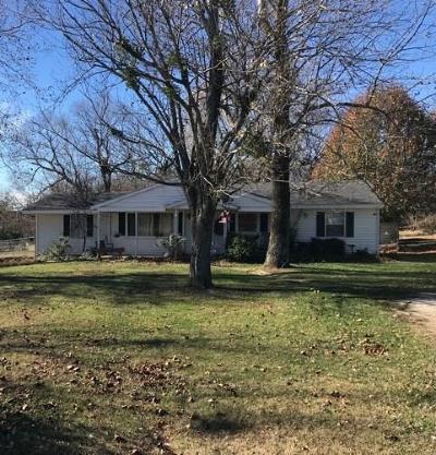 Fayetteville Single Family Home For Sale: 3915 N Gulley RD