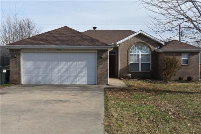 Centerton Single Family Home For Sale: 660 Frances Drive