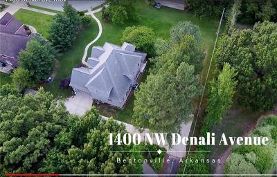 Bentonville Single Family Home For Sale: 1400 NW Denali Park AVE