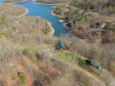 Eureka Springs Single Family Home For Sale: 1081 Lakeview Bend RD