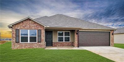 Bentonville Single Family Home For Sale: 848 NW Evans CIR