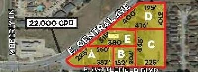Residential Lots & Land For Sale: 2606 Central AVE Unit #E #E