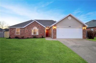 Centerton Single Family Home For Sale: 202 Shane DR