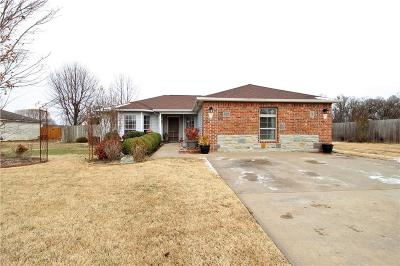 Pea Ridge Single Family Home For Sale: 2214 S Harvey Wakefield