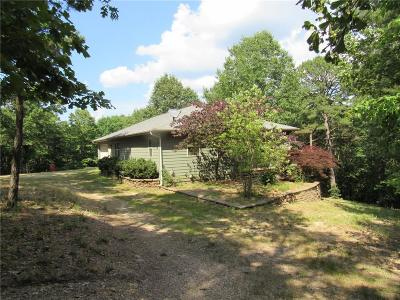 Eureka Springs Single Family Home For Sale: 1172 County Road 1160