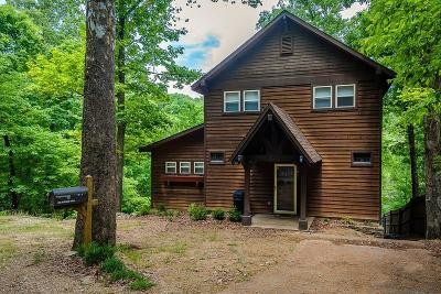 Eureka Springs Single Family Home For Sale: 185 Lakeshore DR