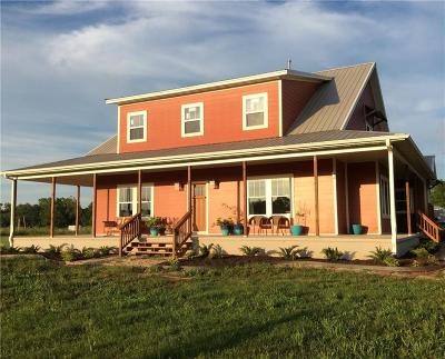 Gentry Single Family Home For Sale: 16000 Peterson RD