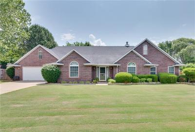 Fayetteville Single Family Home For Sale: 2208 N Blue Mesa DR