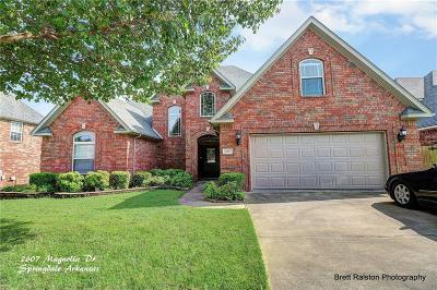 Springdale AR Single Family Home For Sale: $329,000