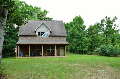 Gentry Single Family Home For Sale: 12719 S Pleasant Valley RD