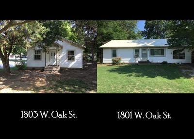 Rogers Multi Family Home For Sale: 1801 & 1803 W Oak ST