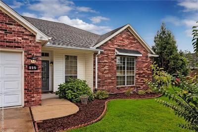 Centerton Single Family Home For Sale: 115 Elm ST