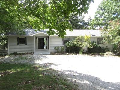 Eureka Springs Single Family Home For Sale: 259 Ridge RD