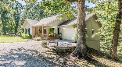 Eureka Springs, Rogers, Lowell Single Family Home For Sale: 1722 County Road 102