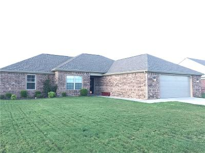 Pea Ridge Single Family Home For Sale: 1100 Mitchell LN