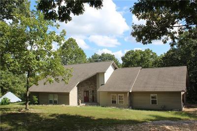Grove Single Family Home For Sale: 62200 E 336 LN