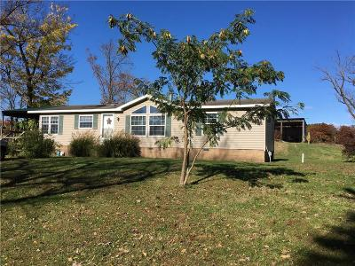 Gravette Single Family Home For Sale: 14410 Highway 102