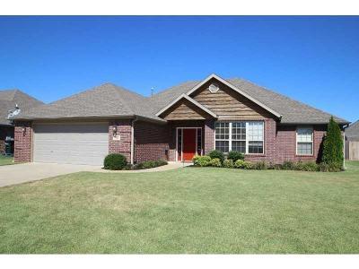 Centerton Single Family Home For Sale: 1221 Kensington DR