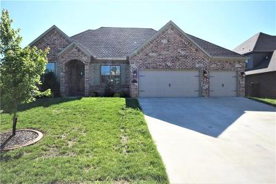 Centerton Single Family Home For Sale: 1340 Tuscany DR