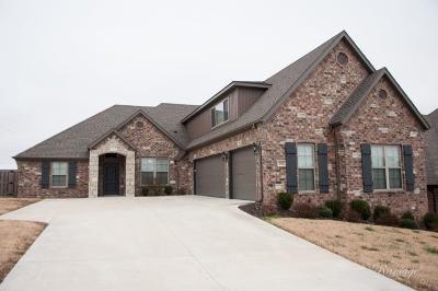 Centerton Single Family Home For Sale: 601 Tamarron DR