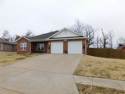 Gravette Single Family Home For Sale: 204 N Lion DR