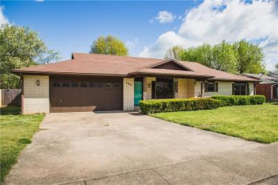 Prairie Grove Single Family Home For Sale: 808 Prairie Oaks DR