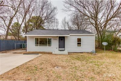 Fayetteville AR Single Family Home For Sale: $135,000
