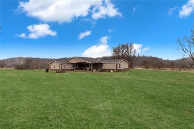 Gravette Single Family Home For Sale: 20275 N Mount Olive RD