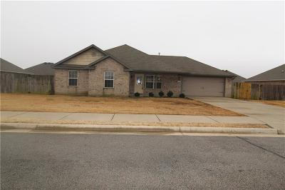 Centerton Single Family Home For Sale: 541 Lasso LN